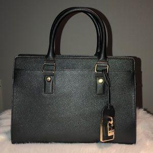 ALDO | BLACK TOP HANDLE BAG | WITH LUGGAGE TAG